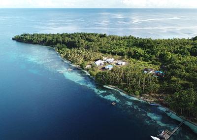 Kofiau Boo Marine Protected Area Raja Ampat Ranger Patrol SEA TRACKER