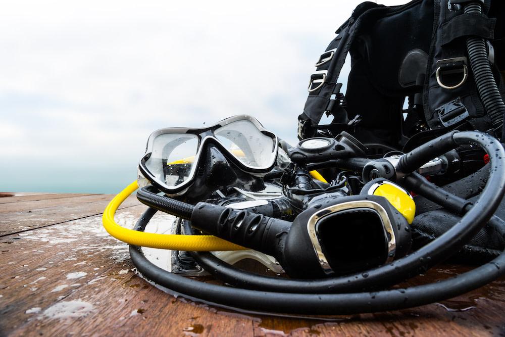 Scuba Diving Gear Raja Ampat