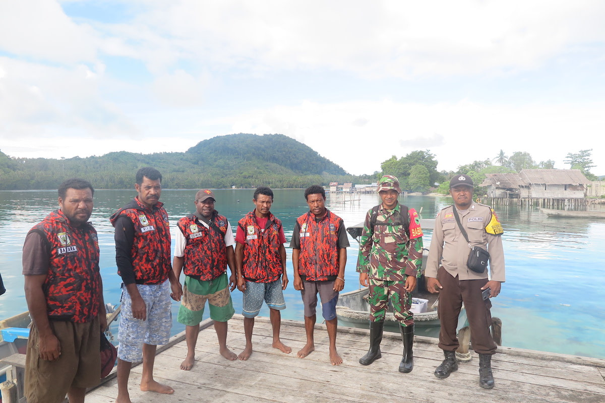 Kofiau Boo Marine Protected Area Raja Ampat Ranger Patrol